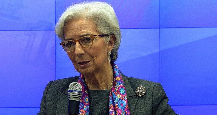 克里斯蒂娜·拉加德:国际货币基金组织准备与亚投行进行合作