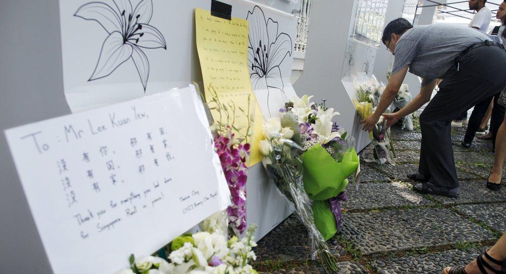 新加坡因李光耀去世宣佈哀悼7天