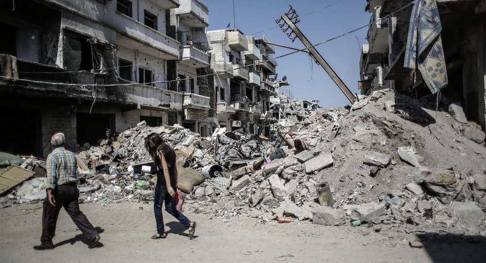10余人在叙利亚阿勒颇恐怖分子袭击中死亡,其中包括儿童