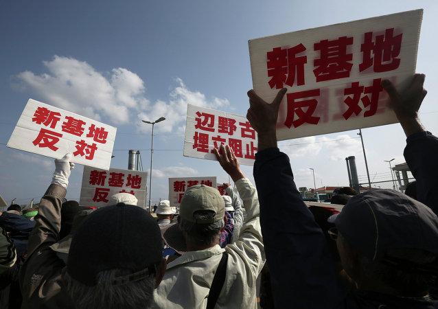 日本政府將無視沖繩縣當局對建設美國航天基地的禁令