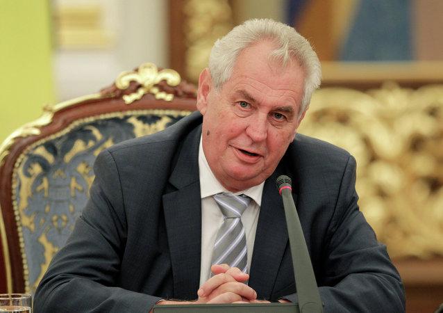 捷克總統:捷中兩國將簽署戰略夥伴關係協議