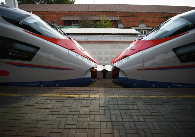 俄鐵路:俄游隼號高速列車的遊客半數為中國人