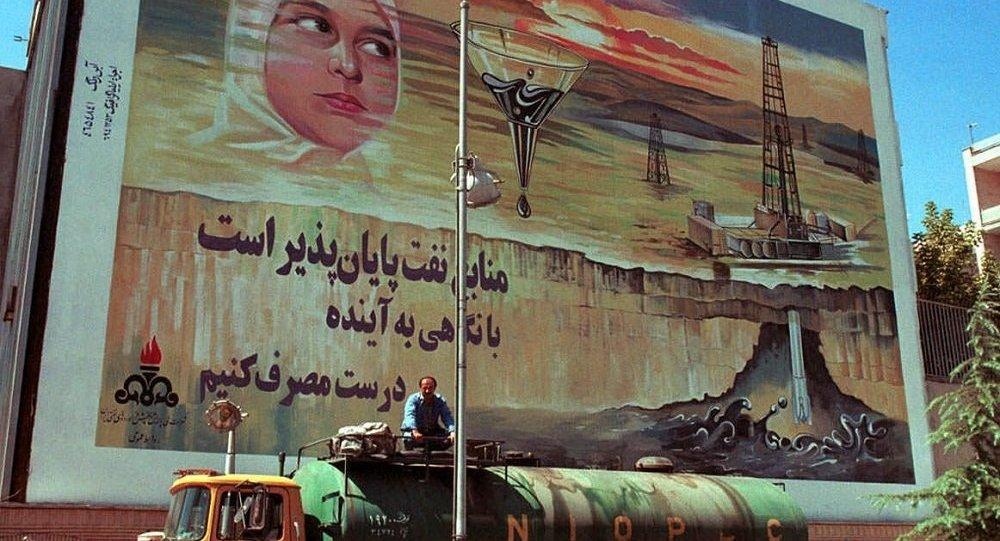 德黑蘭街頭的油罐車/資料圖片/