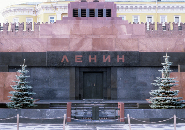 莫斯科·红场·列宁墓