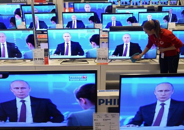 民調:52%的俄羅斯人通過電視獲取新聞 32%通過互聯網