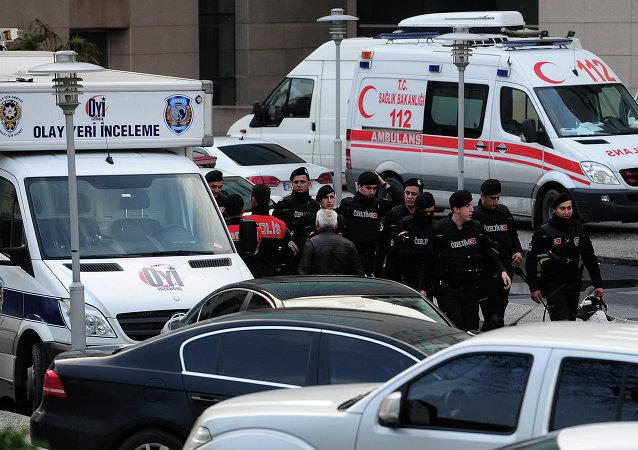 伊斯坦布爾警方成功解救被劫持為人質的檢察官