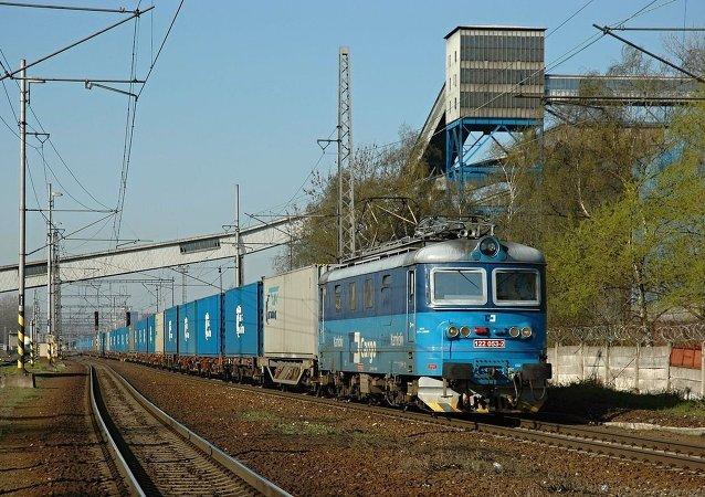 Transcontainer公司的集裝箱列車