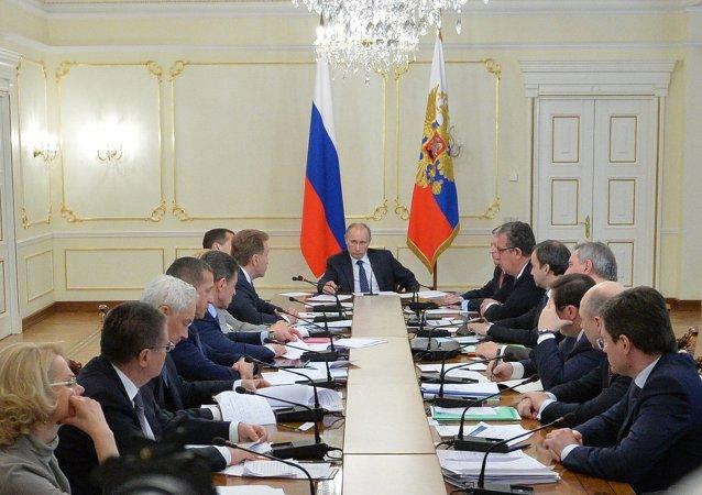 普京22日將就2016年國家預算編制召開會議