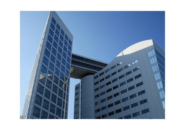 在海牙国际刑事 法院大楼