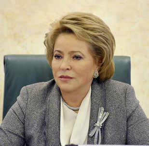 俄罗斯联邦委员会(议会上院)主席瓦连京娜•马特维延科
