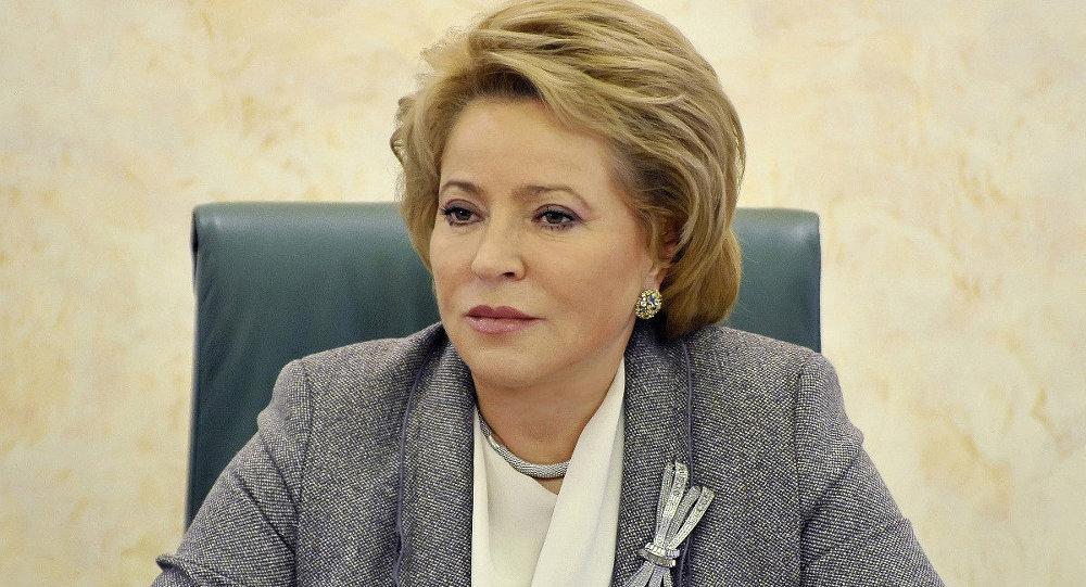 俄羅斯聯邦委員會(議會上院)主席瓦連京娜•馬特維延科
