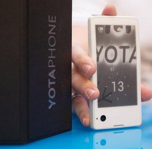 俄媒:俄双屏手机YotaPhone3在华销售额为500万美元