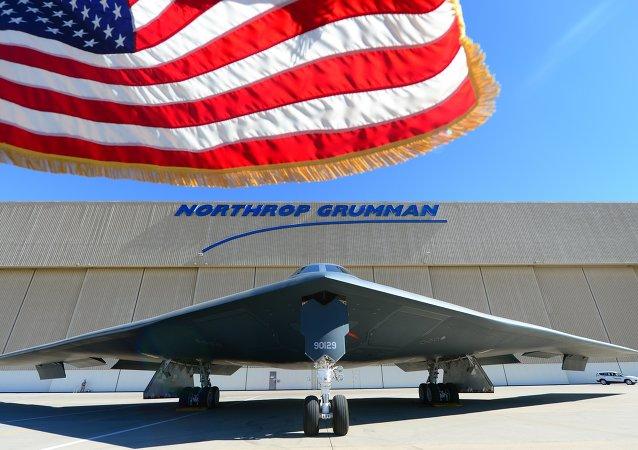 美國能夠攜帶核武器的B-2「幽靈」戰略轟炸機