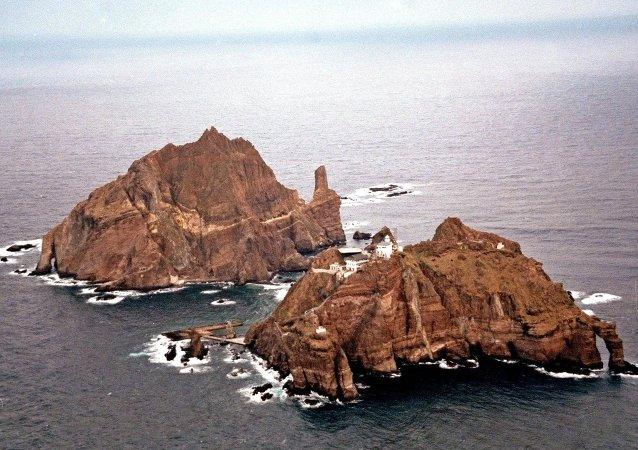 日本抗议朝韩峰会晚宴甜点图案含争议岛屿