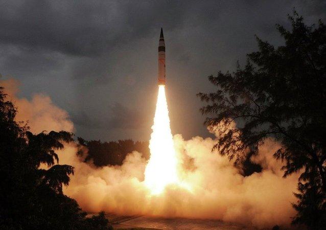 印度拦截导弹试验