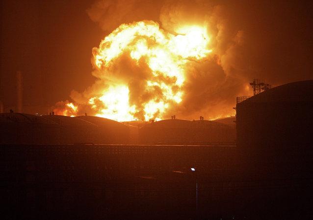 廣西玉林一化工廠發生爆炸 已致4人死亡