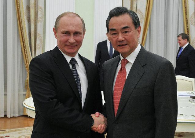 中國外交部:普京總統將於11日會見中國外長王毅