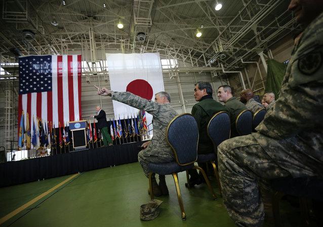 日美军事合作