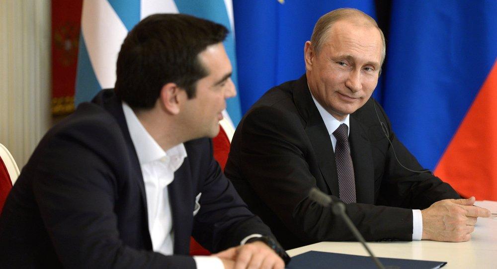 克宮:普京與希臘總理就公投結果進行電話會談