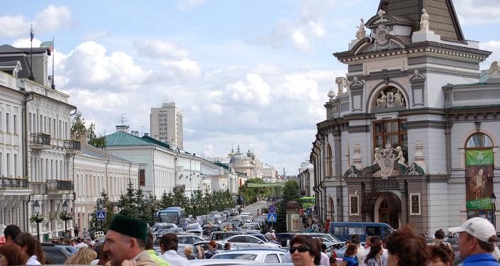 俄鞑靼斯坦首府喀山