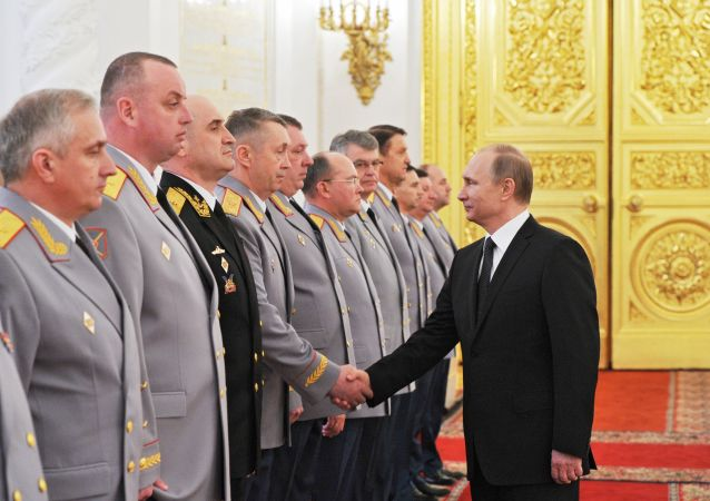 普京:加强防御潜力是俄平静生活和主权发展的保证
