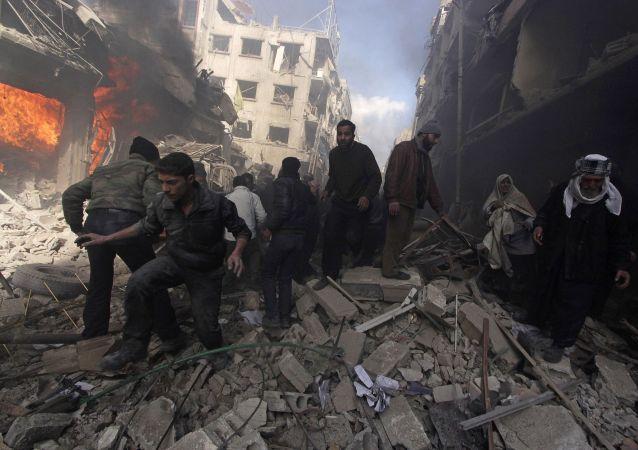 """潘基文:在叙利亚的巴勒斯坦难民营正变成""""死亡集中营"""""""