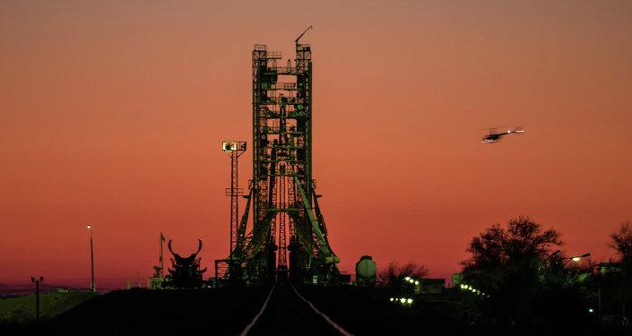 俄联盟号火箭加注燃料处将安装监控摄像机