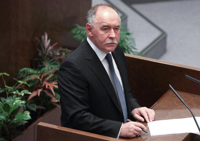 俄国家禁毒委员会主席、联邦麻醉品监管总局局长维克托·伊万诺夫
