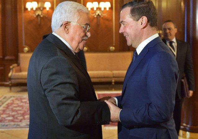 巴勒斯坦总统打算和俄总理讨论巴以领导人在俄举行会谈的可能性