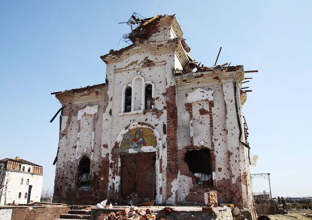 普罗特尼茨基:基辅当局损毁卢甘斯克共和国8000余栋居民住宅