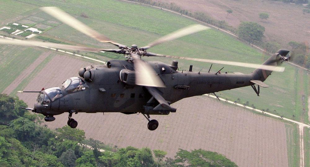 米-35M直升機