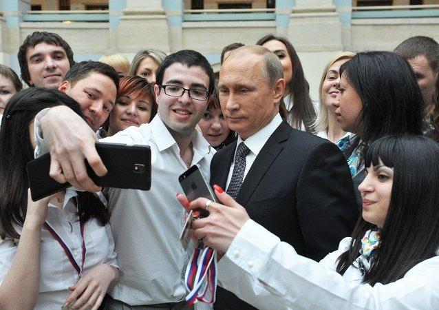 普京称其当选最有影响力人物体现出对俄罗斯的尊敬