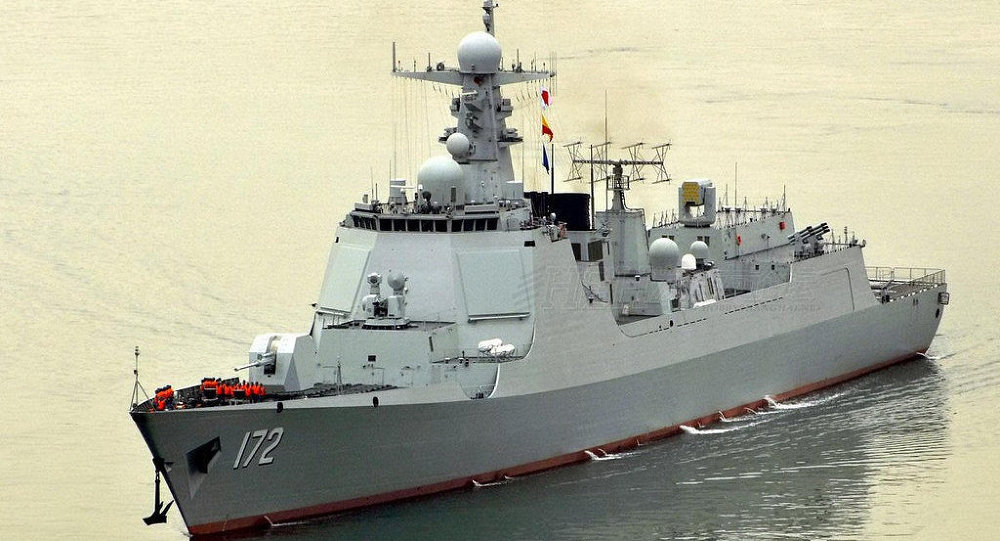 052D型導彈驅逐艦