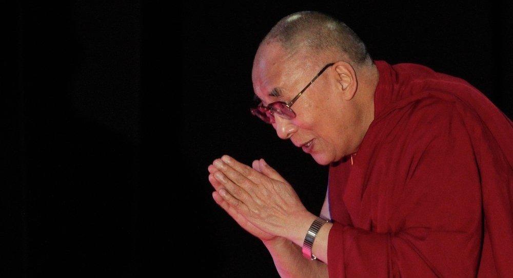 中国呼吁达赖喇嘛放弃西藏独立的幻想
