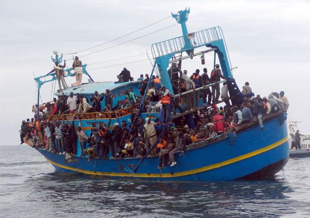 地中海, 移民