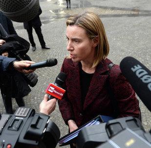 莫盖里尼 : 欧盟认为只能政治解决叙利亚冲突