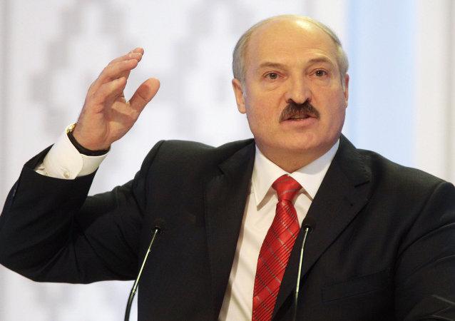 白俄罗斯总统:安全问题对于白俄罗斯具有特殊重要意义