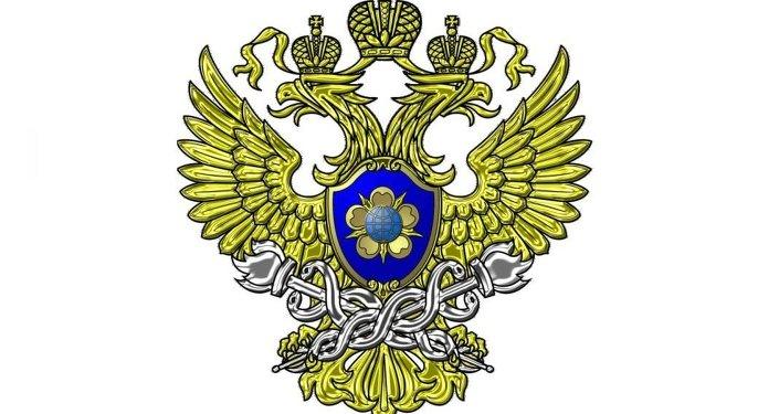 俄罗斯联邦金融监察局的标志