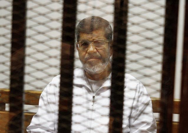 开罗刑事法院判处埃及前总统穆尔西20年监禁