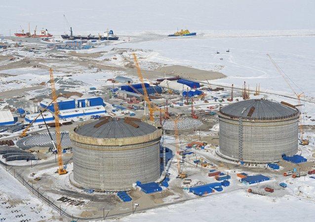 俄現代商船公司年底前將為亞馬爾LNG項目建成第一艘LNG船