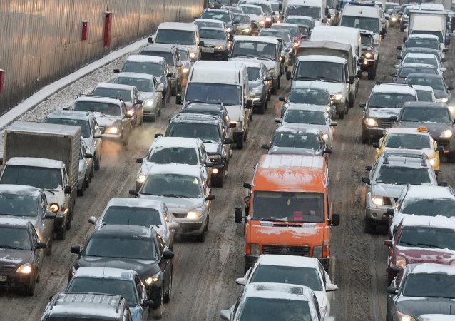 莫斯科不再是世界交通拥堵最严重城市