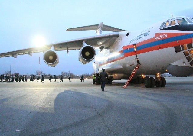 俄罗斯紧急情况安全部将10余名病重儿童从顿巴斯转移回莫斯科治疗