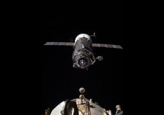 """第二次尝试发射的""""进步MS-07""""飞船10月16日与国际空间站对接"""