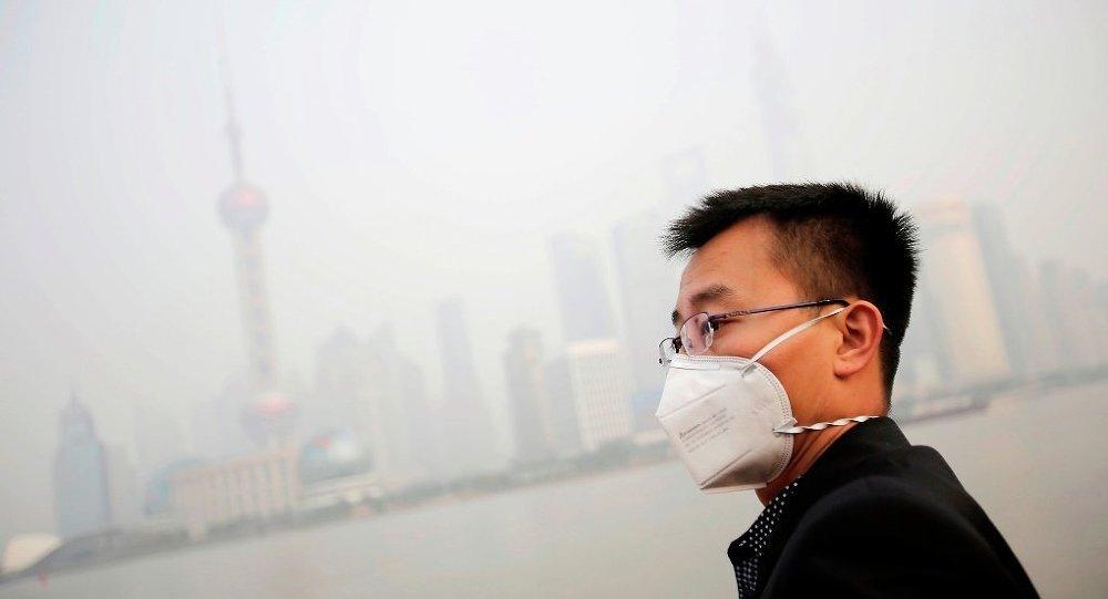 中国特大城市空气污染严重/资料图片/