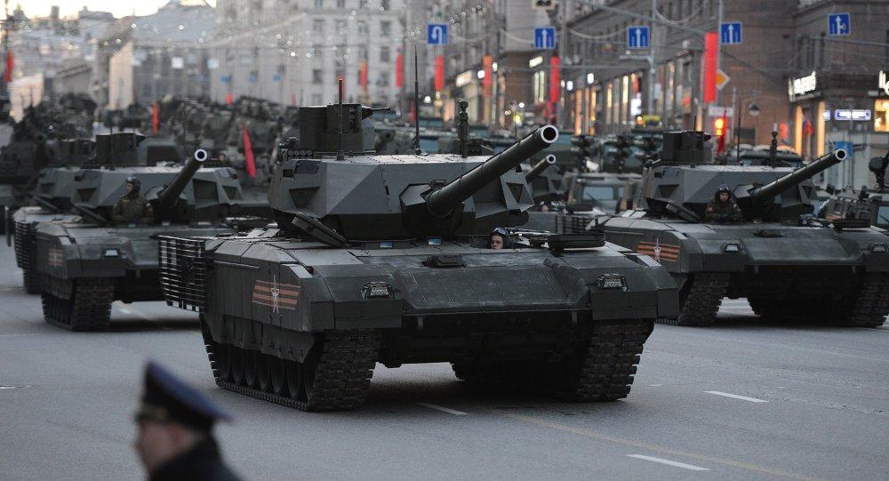 莫斯科紅場閱兵將有1.6萬名士兵和200多輛軍事裝備參加