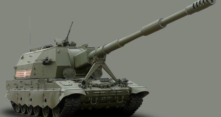 新式「聯盟-SV」自行榴彈炮