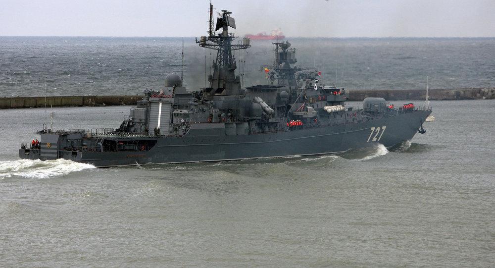 俄中共約10艦將參加地中海聯合軍演