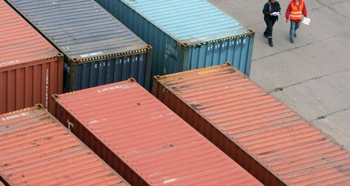 """""""滨海-1""""国际交通运输走廊集装箱货运量增长10倍多"""
