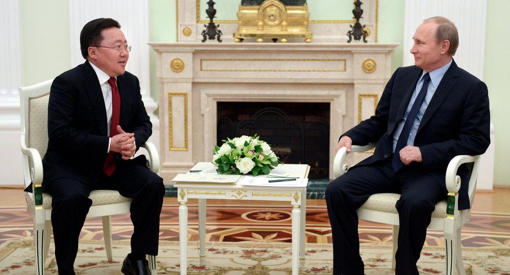 普京:夏天將舉行俄羅斯、蒙古和中國領導人三邊會議