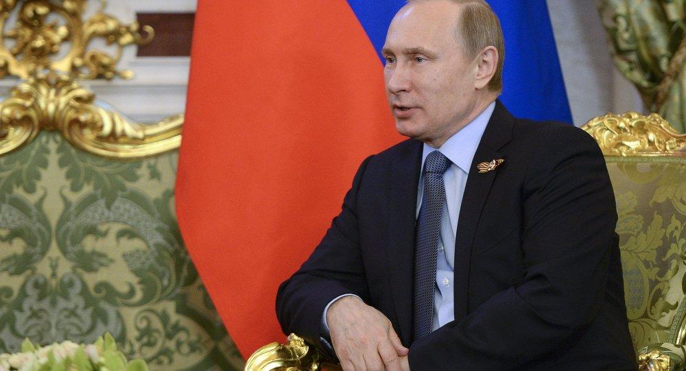 普京表示,俄中反對任何篡改歷史和為納粹主義平反的企圖